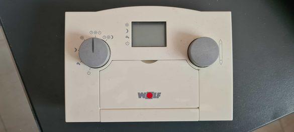 Терморугулатор със седмичен програматор за газов котел WOLF