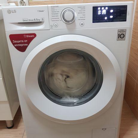 Телевизор LG, стиральная машина, шерстяной ковёр