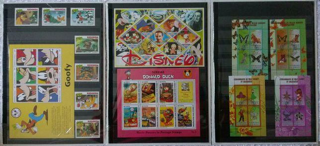 Lot de timbre Disney, desene animat