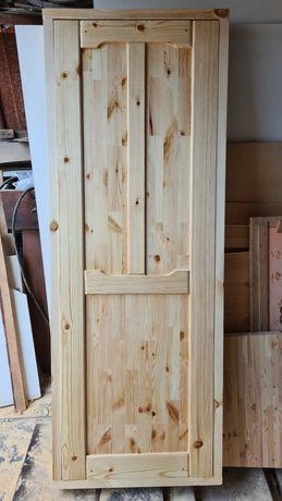 Изготовим межкомнатные и банные двери из сухой ангарской сосны