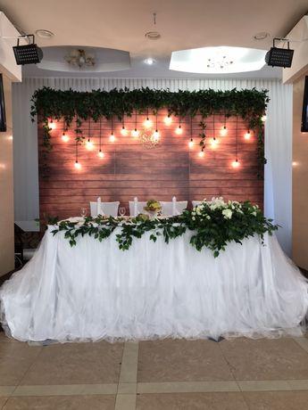 Оформление свадеб и других мероприятий