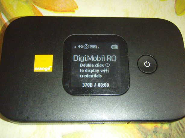 Router portabil 4G LTE 150Mbps Huawei E5577c functional in orice retea