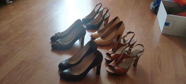 Женские туфли. Кожаные.