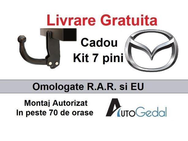 Carlig Remorcare MAZDA CX5 2012-2017 Livrare Gratuita Omologat RAR