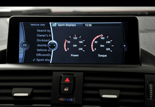 Codari activare functii BMW mini dupa 2006 video in mers sport display