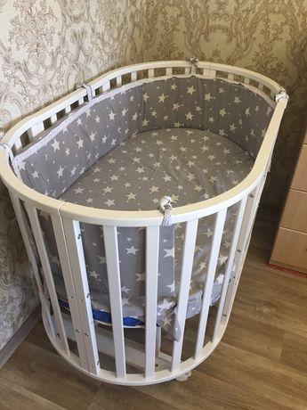 Кроватка для малыша 7в1