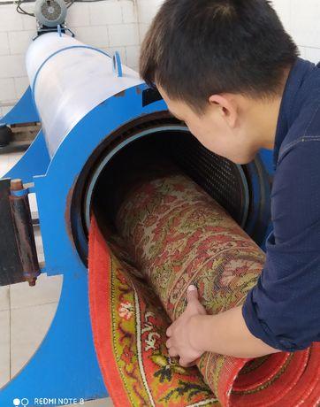 Чистка ковров в Астане. Аквачистка с вывозом и бесплатной доставкой