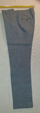 Продам классические голубые льняные мужские брюки NEXT