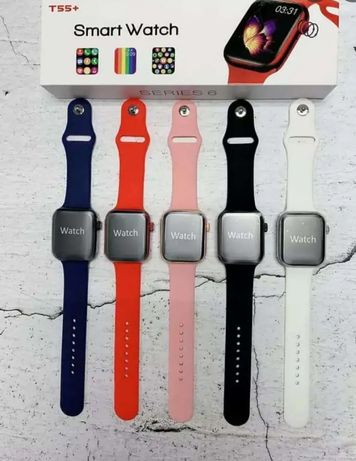 Smart watch T55 + новый