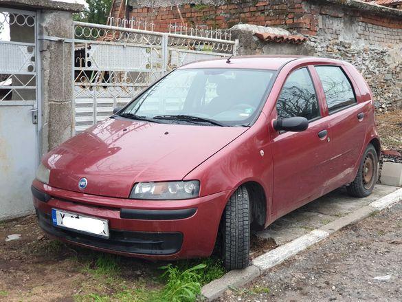 Fiat punto 188 1.2i 8v 60 коня 2000г на части