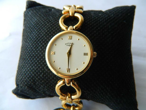 Ceas de dama elegant  ROTARY placat cu aur cod R16