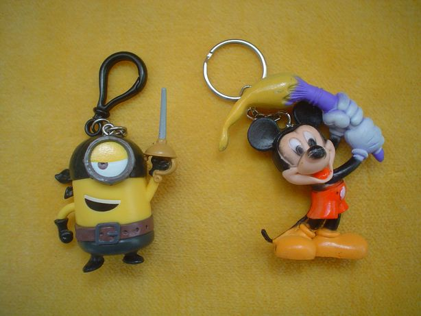 breloc Mickey Mouse / minion Zorro