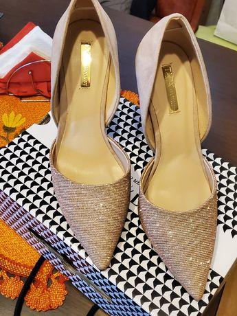 Pantofi stiletto nude made in Italy