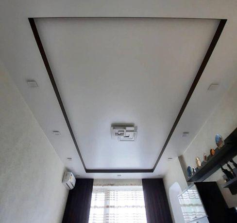 Натяжной потолок. Натяжные потолки. Скидки при объёме