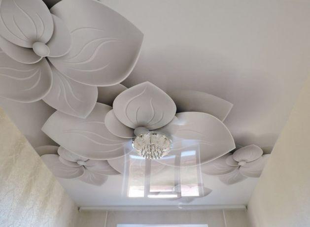 Кермелі төбе. Натяжной потолок. Натяжные потолки.