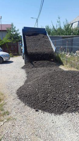 Transport frezat de asfalt