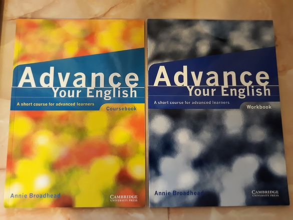 Advance your English Coursebook & Workbook: A short course
