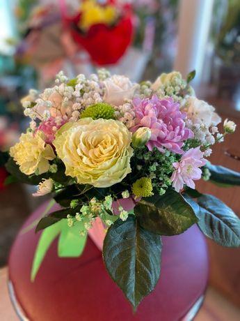 Цветы в Коробках - Розы Тюльпаны Евро букеты Доставка цветов