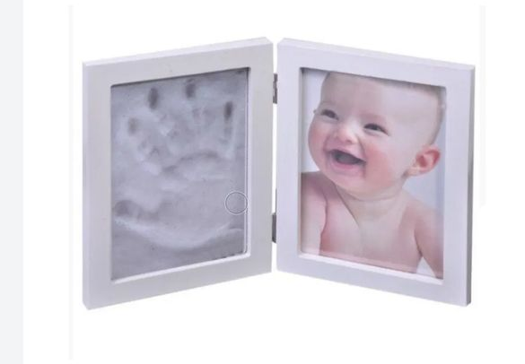 Рамка за снимка с отпечатък за детска ръчичка и краче!!!