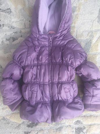 Детско зимно яке за момиче