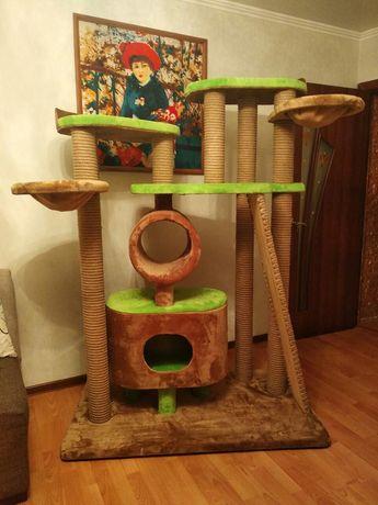 Комплекс для котов! Высота 160 см