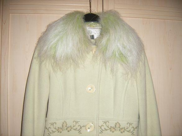 Елегантно зимно палто №44 бг, размер М