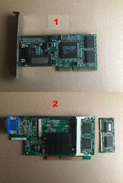 Ретро ISA, AGP и PCI карти