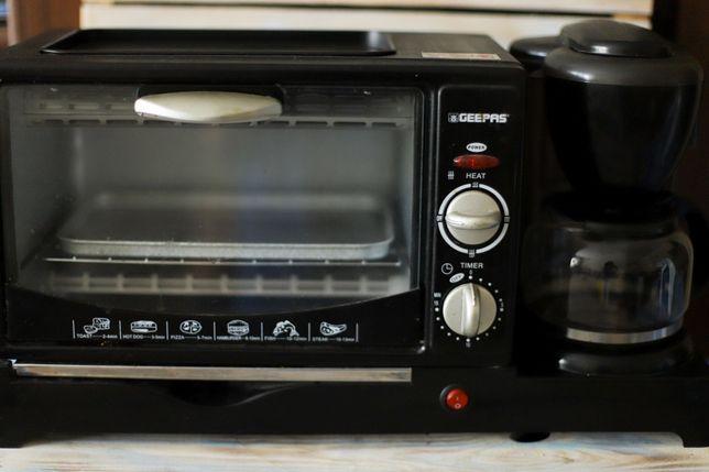 Geepas многофункциональный кухонный прибор + кофеварка