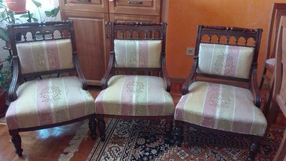 Ниска стилна салонна мебел
