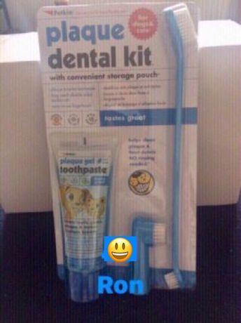 Kit indepartare placa bacteriana caini-pisici, made in SUA