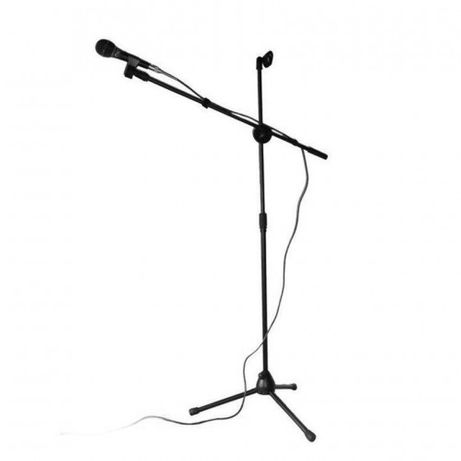 Stativ Microfon trepied Suport pentru doua Microfoane