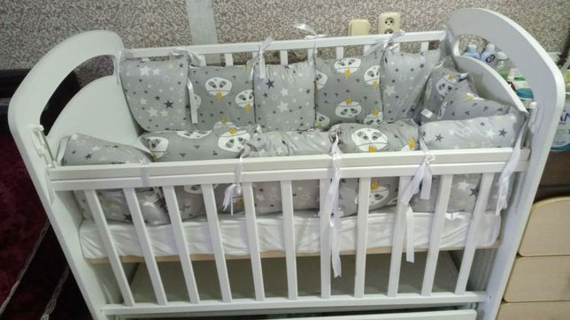 Продаем детскую кроватку в отличном состоянии!