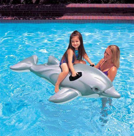 Saltea Gonflabila Delfin piscina 175 X 65 Cm Intex