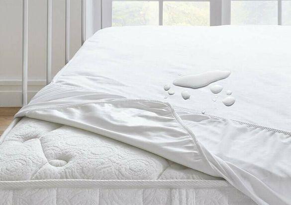 Протектор за матрак,хавлиено покритие памук,100% непромокаем