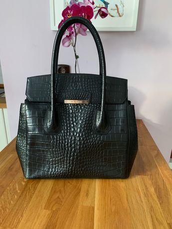 Musette естествена кожа чанта