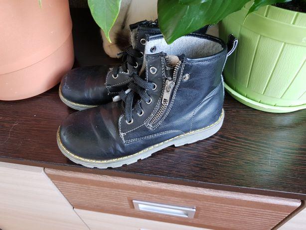 Детские итальянские кожаные ботинки Chicco