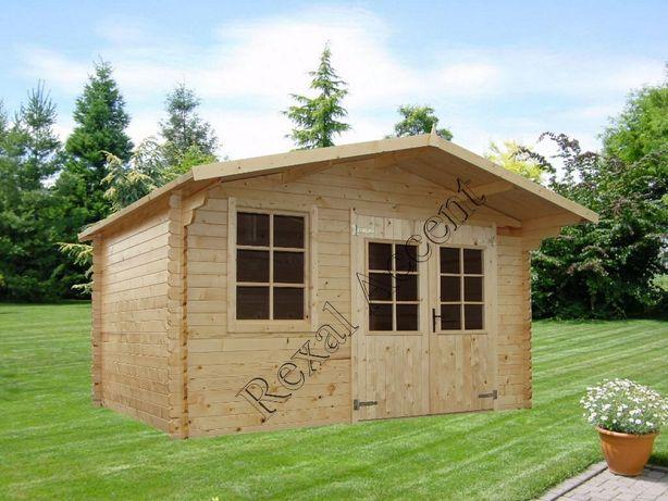 Casuta gradina din lemn, 380 cm X 300 cm, Casuta MARA rexal.ro