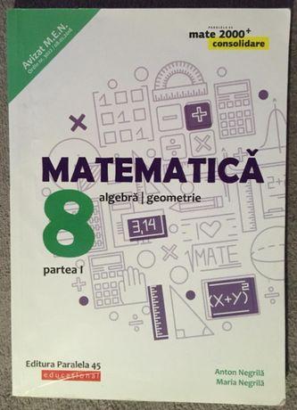 Matematica. Algebra, geometrie - clasa a VIII-a. Partea I (2019-2020)