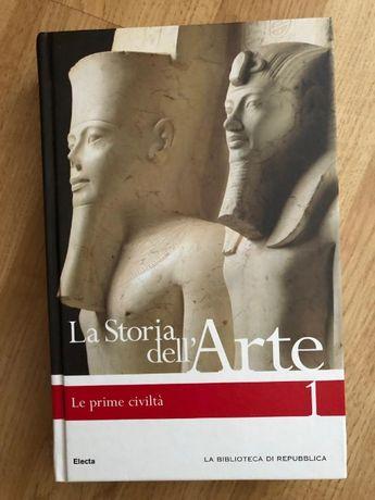 La Storia dell'Arte: Le prime civilta' 1 (in italiana)