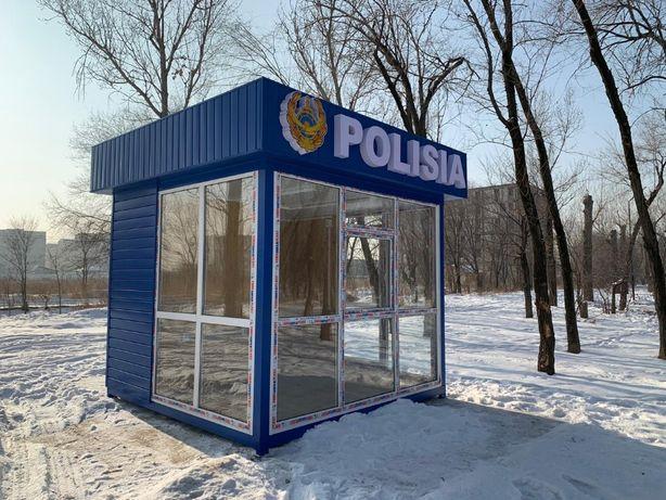 Утепленные будки, домики и посты охраны в Алматы