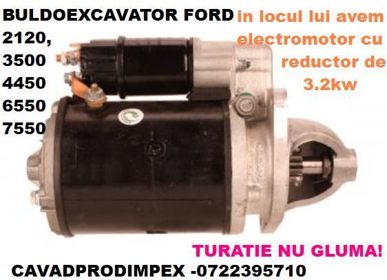 Electromotor pentru buldoexcavator FORD