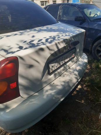 Продам автомобиль Шевроле Ланос 2006 года.Машина на ходу,есть немного