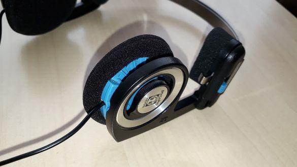 Резервни меки наушници за слушалки 50-55мм за Koss PortaPro и др.