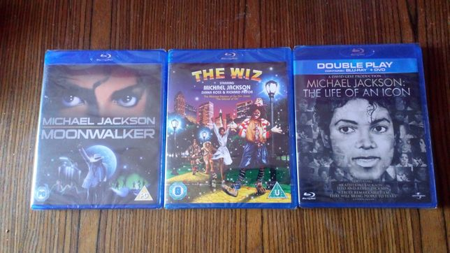 Michael jackson bluray originale sigilate uk