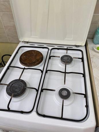 Продам газ плиту с электрической духовкой