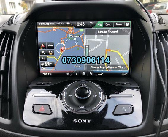 Card navigatie 2020 Ford Focus Kuga Mondeo C-Max S-Max ROMANIA 2019