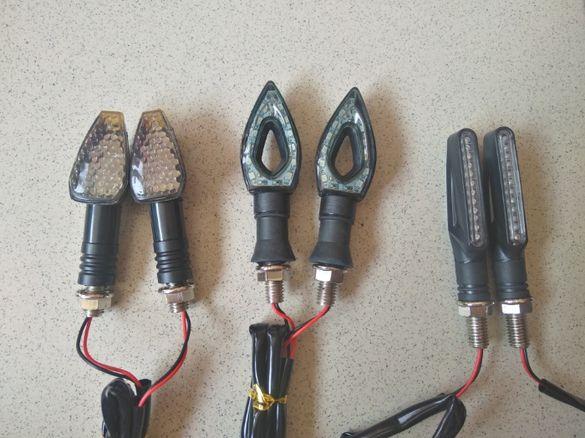 Продавам Led (ЛЕД) мигачи за мотор 2 броя или 4 броя