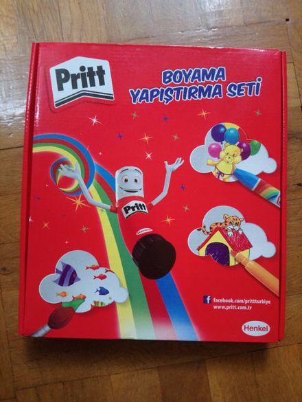 Чисто нов комплект Pritt - 37 части.