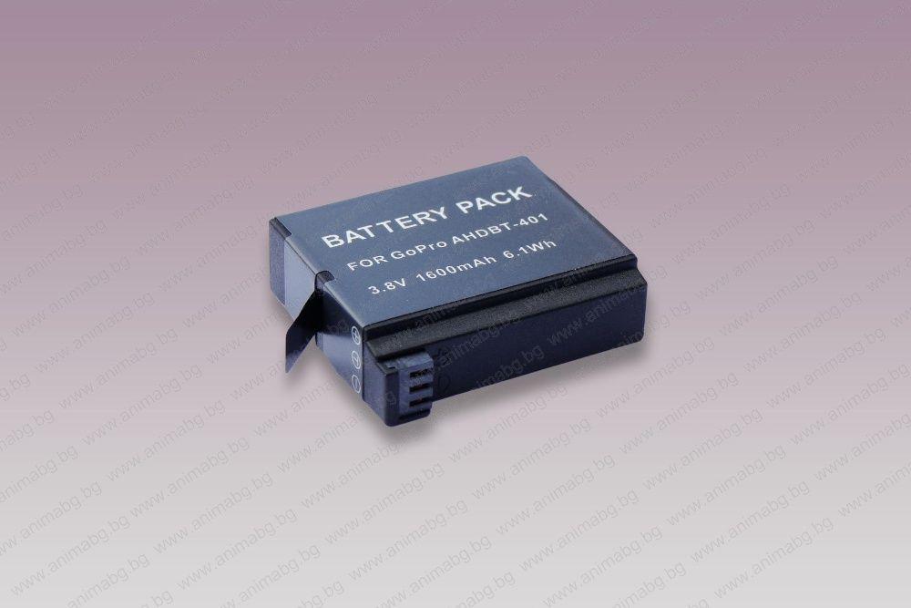 ANIMABG Батерия модел GoPro AHDBT-401