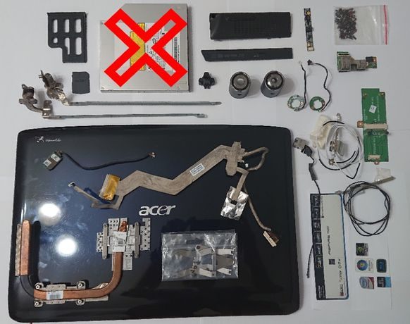 Acer Aspire 6920G - лаптоп НА ЧАСТИ
